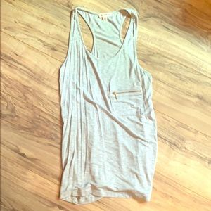 Light gray tank
